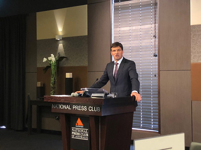 Angus Taylor Minister for Law Enforcement and Cyber Security