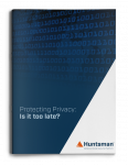 Protecting Privacy: Is it too late?
